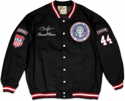 View Buying Options For The Pres. Barack Obama 44th President Forward S2 Mens Twill Jacket