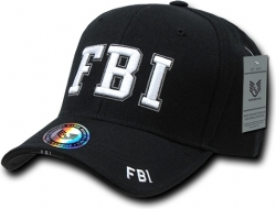 View Buying Options For The RapDom FBI Deluxe Law Enf. Mens Cap