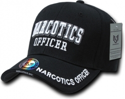 View Buying Options For The RapDom Narcotics Officer Deluxe Law Enf. Mens Cap