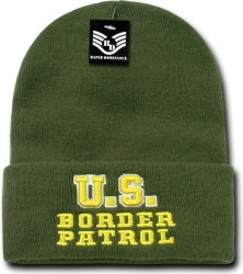 View Buying Options For The RapDom U.S. Border Patrol Pub/Safety Mens Long Beanie Cap