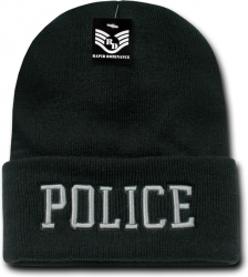 View Buying Options For The RapDom Police Pub/Safety Long Cuff Mens Beanie