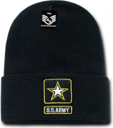 View Buying Options For The RapDom Army Star Mens Military Long Beanie Cap