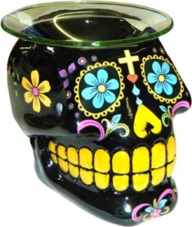 View Buying Options For The Sugar Skull 3D Shaped Gloss Finish Candle Aroma Lamp