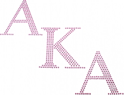 View Buying Options For The Alpha Kappa Alpha Diagonal Sequin Heat Transfer