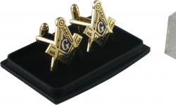View Buying Options For The Mason Blue House Symbol Mens Cuff Links