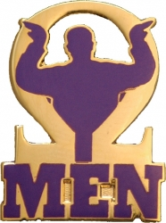 View Buying Options For The Omega Psi Phi Que Men Lapel Pin
