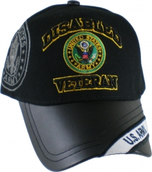 View Buying Options For The Disabled U.S. Army Veteran Vinyl Bill Shadow Mens Cap