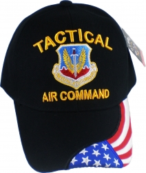 View Buying Options For The Tactical Air Command US Flag Draped Bill Mens Cap