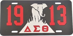 View Buying Options For The Delta Sigma Theta 1913 Elephant Burning Sands Mirror License Plate