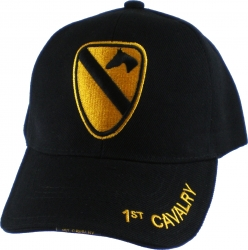 View Buying Options For The 1st Cavalry Division 3D Emblem Mens Cap