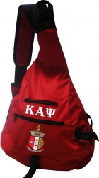 View Buying Options For The Kappa Alpha Psi Sling Bag Backpack