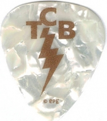 View Buying Options For The Elvis Presley TCB Logo Plastic Guitar Pick [Pre-Pack]