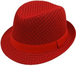 View Buying Options For The Stylish Cool Beehive Summer Mesh Mens Fedora Hat