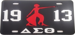 View Buying Options For The Delta Sigma Theta 1913 Lady Fortitude Mirror License Plate