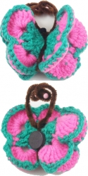 View Buying Options For The Crocheted Knit Wired Butterfly Magnet