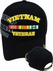 View Buying Options For The Vietnam Veteran Ribbons Shadow Mens Cap