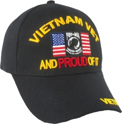 View Buying Options For The Vietnam Vet and Proud of It U.S. POW MIA Flag Mens Cap