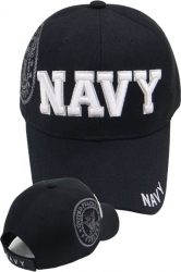 View Buying Options For The Navy Block Letters Shadow Mens Cap