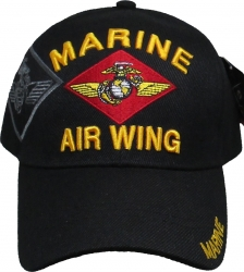 View Buying Options For The Marine Air Wing Emblem Shadow Mens Cap