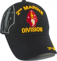 View Buying Options For The 2nd Marine Division Shadow Mens Cap