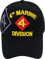 View Buying Options For The 4th Marine Division Emblem Shadow Mens Cap