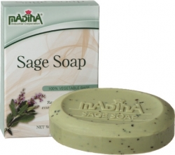 View Buying Options For The Madina Sage Bar Soap [Pre-Pack]