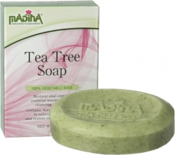 View Buying Options For The Madina Tea Tree with Kava Kava Extract Bar Soap [Pre-Pack]