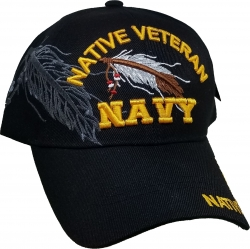 View Buying Options For The Native American Navy Veteran Shadow Mens Cap