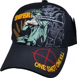 View Buying Options For The Sniper One Shot One Kill Mens Cap