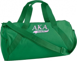 View Buying Options For The Alpha Kappa Alpha Athletic Tail Barrel Duffle Bag