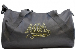 View Buying Options For The Alpha Phi Alpha Athletic Tail Barrel Duffle Bag