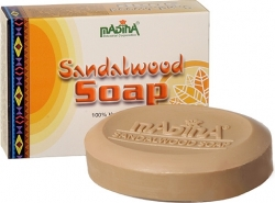 View Buying Options For The Madina Sandalwood Soap [Pre-Pack]
