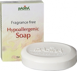 View Buying Options For The Madina Fragrance Free Hypoallergenic Soap [Pre-Pack]