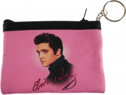 View Buying Options For The Elvis Presley Pink Foil Photo Ladies Coin Purse