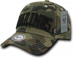 View Buying Options For The RapDom Marines Text Military Mens Cap