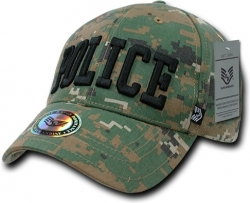 View Buying Options For The RapDom Police Text Military/Law Mens Cap