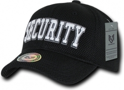View Buying Options For The RapDom Security Text Public Safety Mens Air Mesh Cap