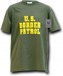 View Buying Options For The RapDom U.S. Border Patrol Text Law Enf. Mens Tee