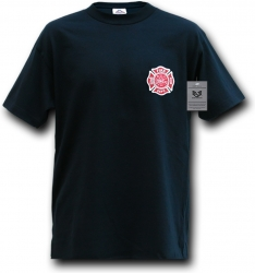 View Buying Options For The RapDom Fire Dept. Logo Law Enf. Mens Tee