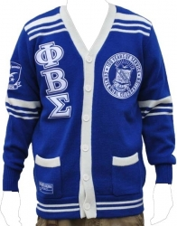 View Buying Options For The Phi Beta Sigma Centennial Divine 9 S4 Mens Varsity Sweater