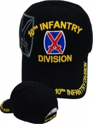 View Buying Options For The 10th Infantry Division Emblem Shadow Mens Cap