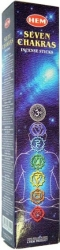 View Buying Options For The HEM Seven Chakras Incense Sticks [Pre-Pack]