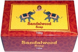 View Buying Options For The Kamini Aromatics Sandalwood Bar Soap [Pre-Pack]