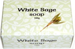 View Buying Options For The Kamini Aromatics White Sage Bar Soap [Pre-Pack]