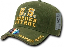View Buying Options For The RapDom Border Patrol Deluxe Law Enf. Mens Cap