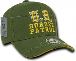View Buying Options For The RapDom U.S. Border Patrol Shadow Law Enf. Mens Cap