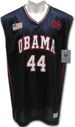 View Buying Options For The President Barack Obama #44 Mens Basketball Jersey