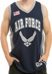 View Buying Options For The RapDom US Air Force Hap Logo Mens Basketball Jersey