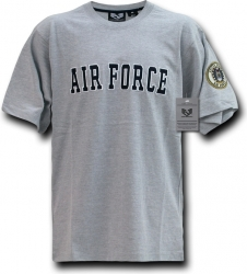View Buying Options For The Air Force Applique Text Mens Tee