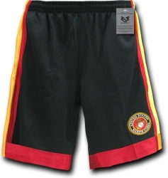 View Buying Options For The RapDom Marine Corps Logo Mens Basketball Shorts